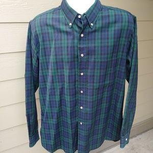Pendleton plaid 100% virgin wool shirt